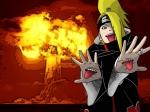 deidara-with-an-explosion
